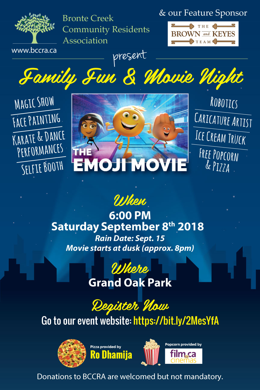 Movie Night Saturday September 8